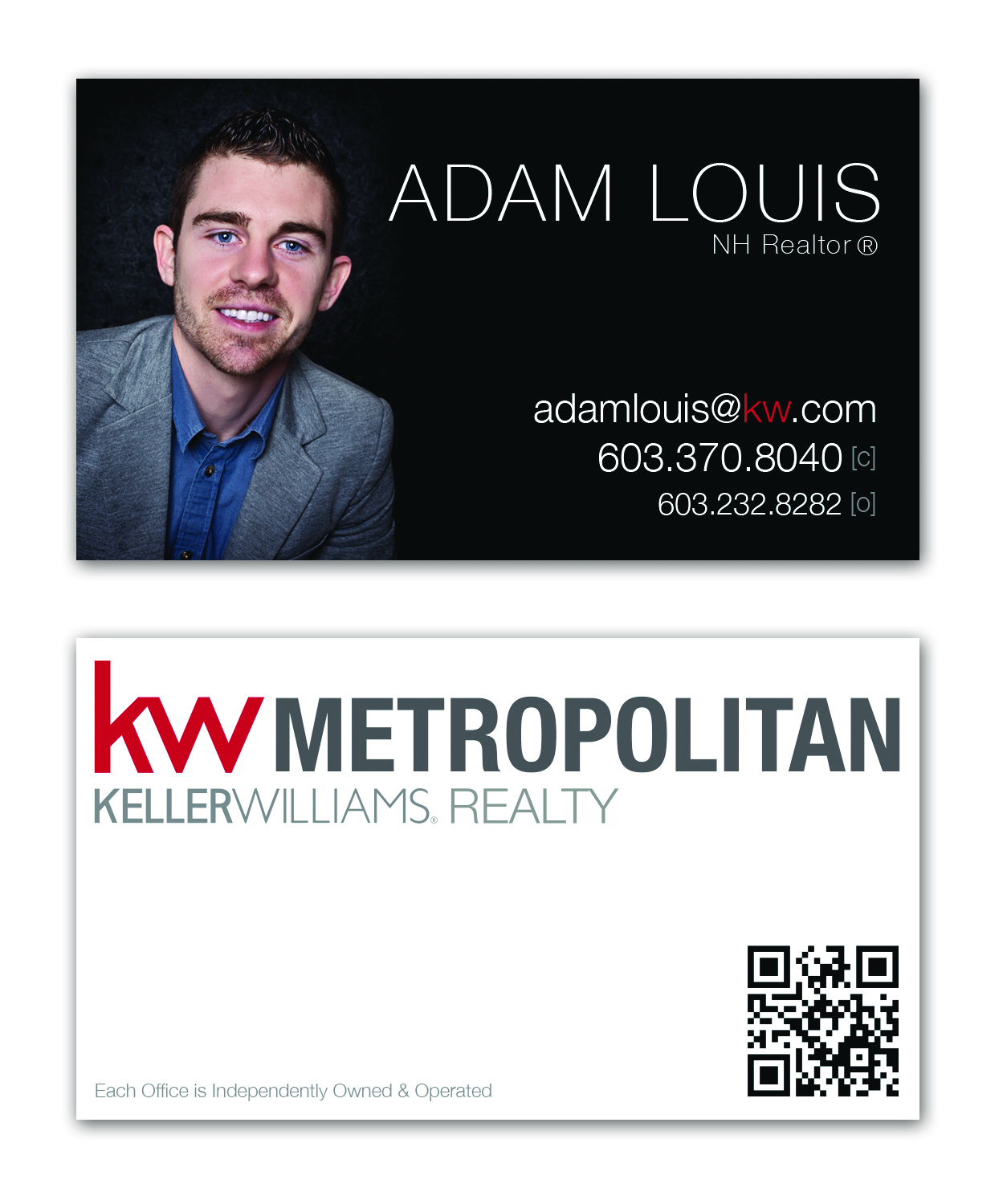 Merrill Business Cards Keller Williams